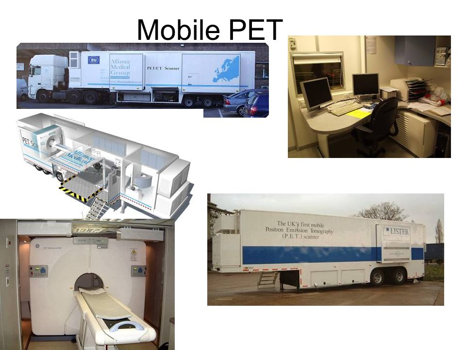 PET/CT-Scanner 1M Events 55M Events