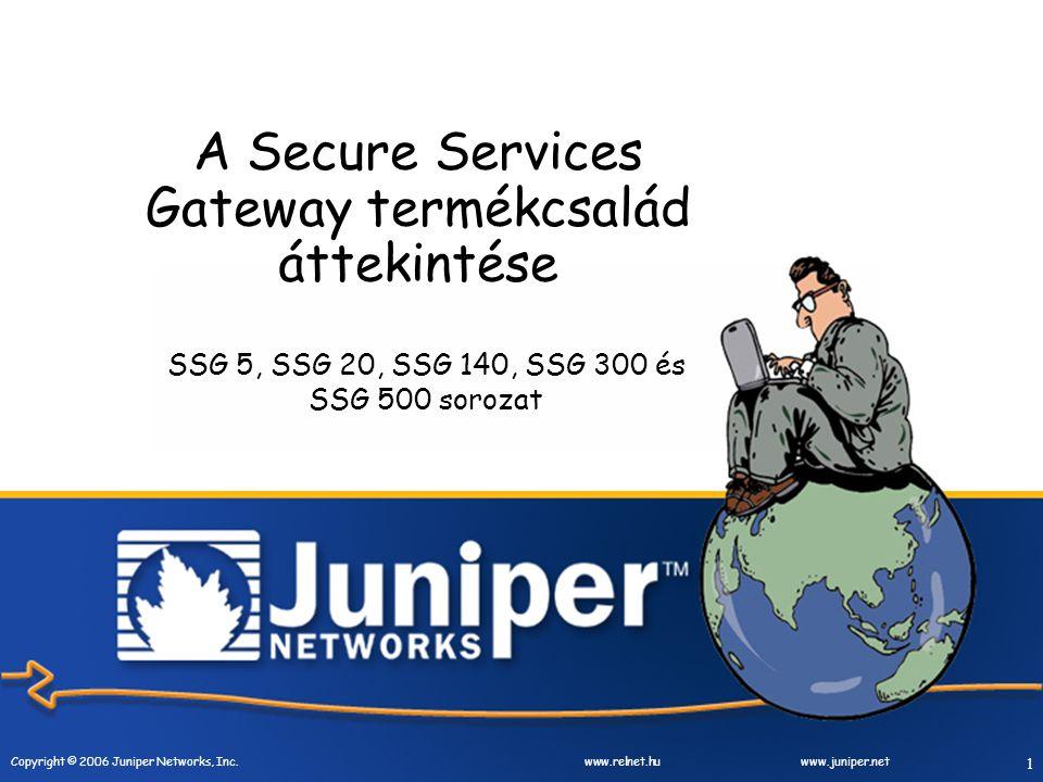 Copyright © 2006 Juniper Networks, Inc.
