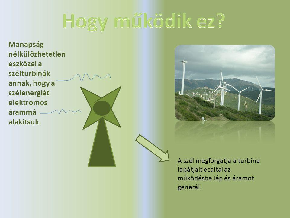 Manapság nélkülözhetetlen eszközei a szélturbinák annak, hogy a szélenergiát elektromos árammá alakítsuk.