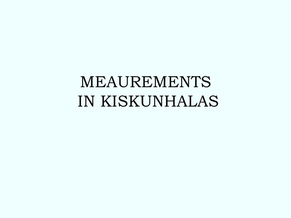We have eight sites around Kiskun- halas.