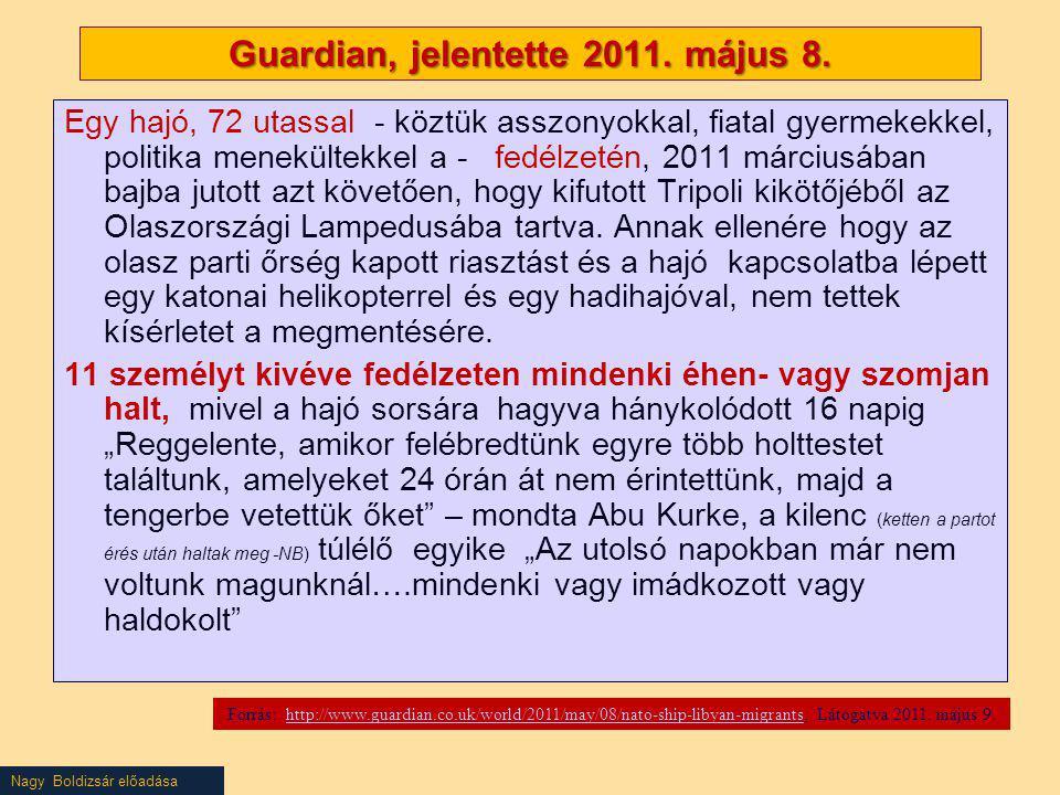 Nagy Boldizsár előadása Illegal entry, stay + facilitators – Frontex data (Excluding UK, Ireland) Presentation by Boldizsár Nagy Source: Frontex, Fran Quarterly Issue No 2 April – June 2012, p.