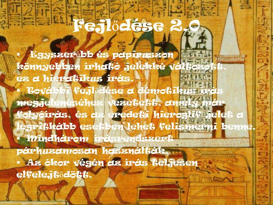 Hieroglif írás más birodalmakban A hieroglif írást nem csak Egyiptomban, hanem a világ különböz ő részein is használták.