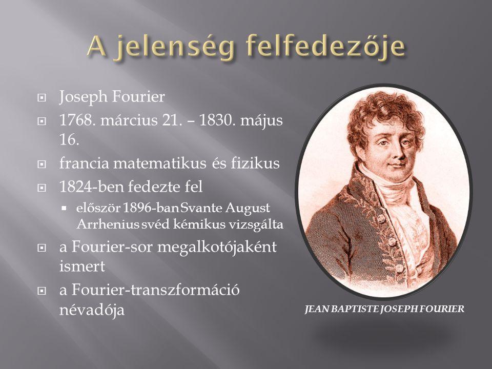 JEAN BAPTISTE JOSEPH FOURIER  Joseph Fourier  1768.