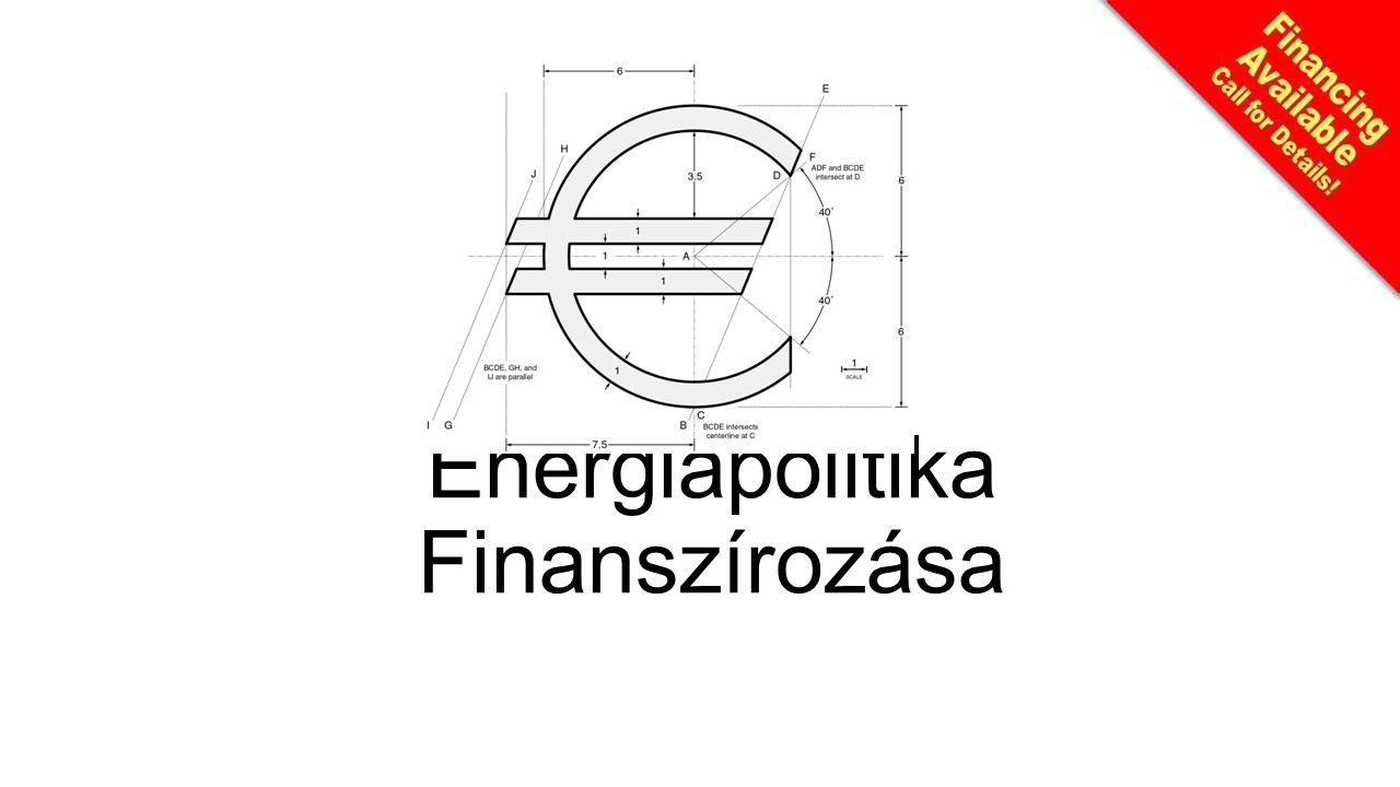Energiapolitika Finanszírozása