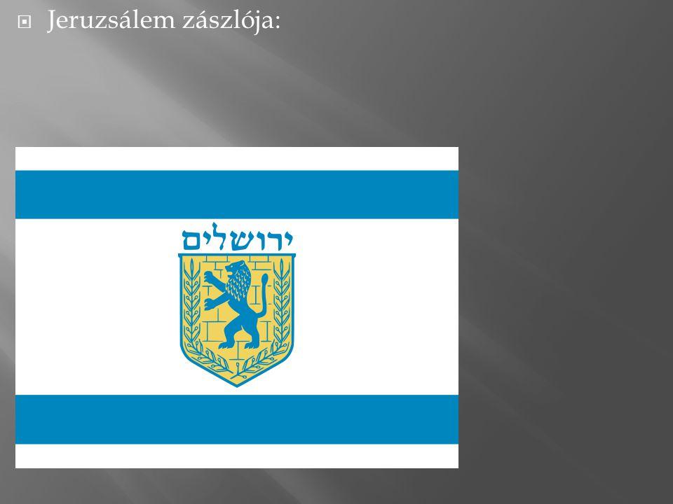  Jeruzsálem zászlója: