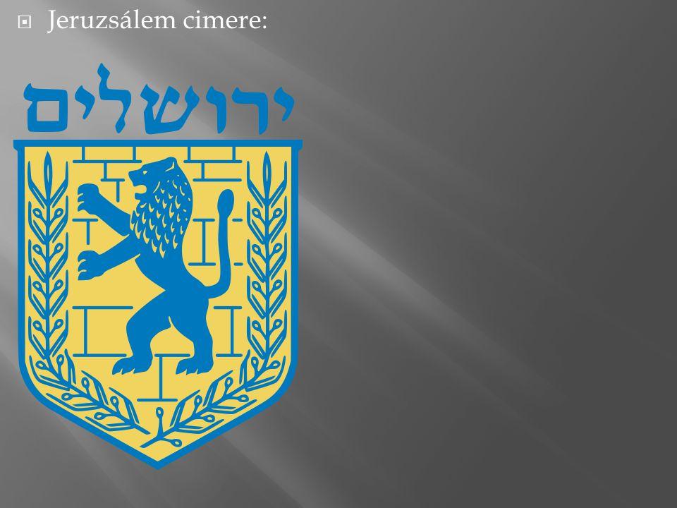  Jeruzsálem cimere: