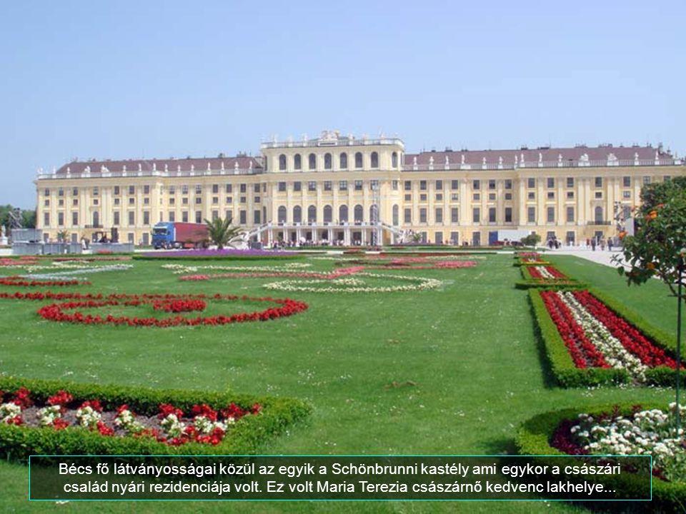 A Schloss Belvedere, a legjelentősebb barokk épületek egyike Bécsben.