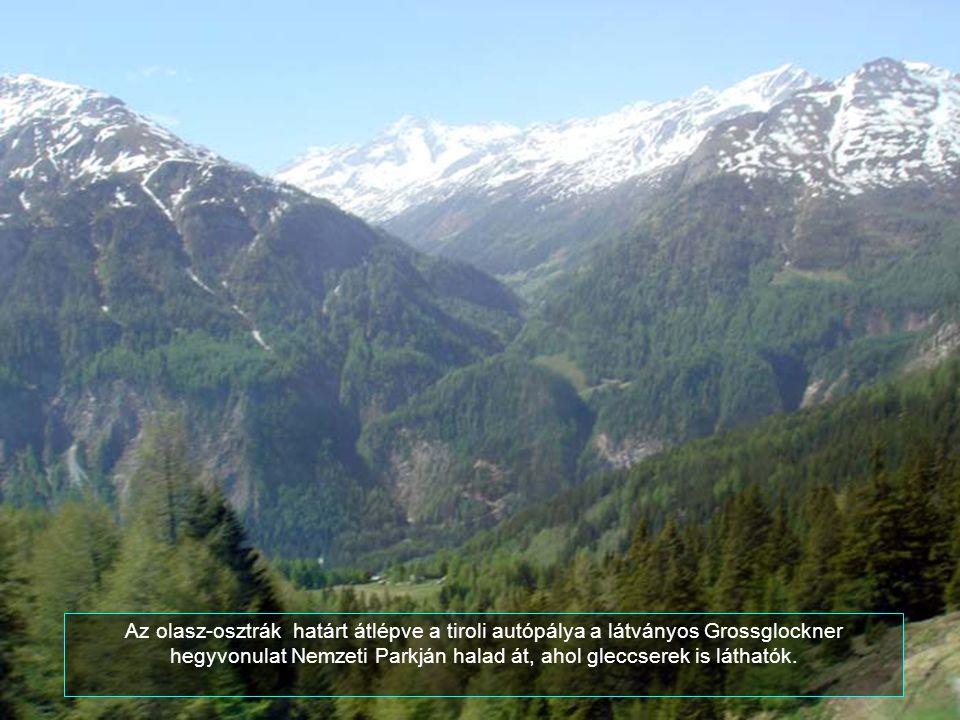 A természeti szépség látványa, és a szirtek mellett kanyargó út valóban lélegzetelállító.