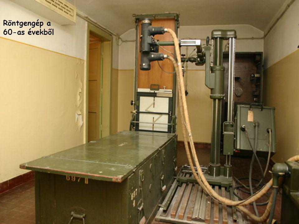 Röntgengép a 60-as évekből