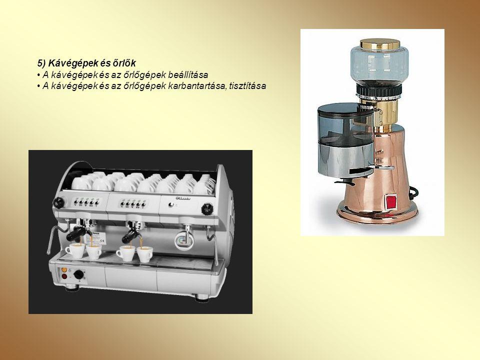 6) Kávé alapú koktélok, a kávé és az alkohol • Espresso Martini • Ír kávé • Ice Cream Café