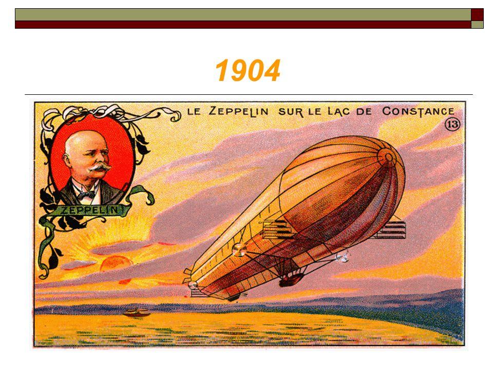 1904 Négy évvel azután, hogy az első Zeppelin az égbe merészkedett LZ-1 néven, vagyis 1904-ben ugyanúgy vette az átlag a turulost mint addig.