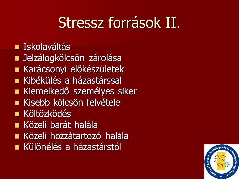 Stressz források III.