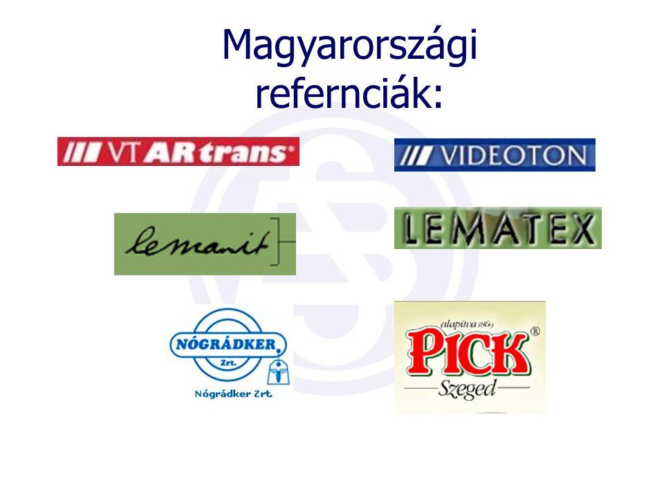 Magyarországi refernciák: