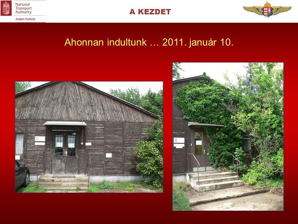 A KEZDET Ahonnan indultunk … 2011. január 10.