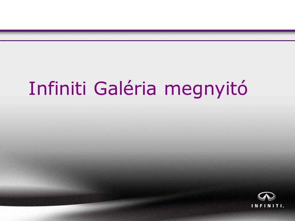 Infiniti Galéria megnyitó