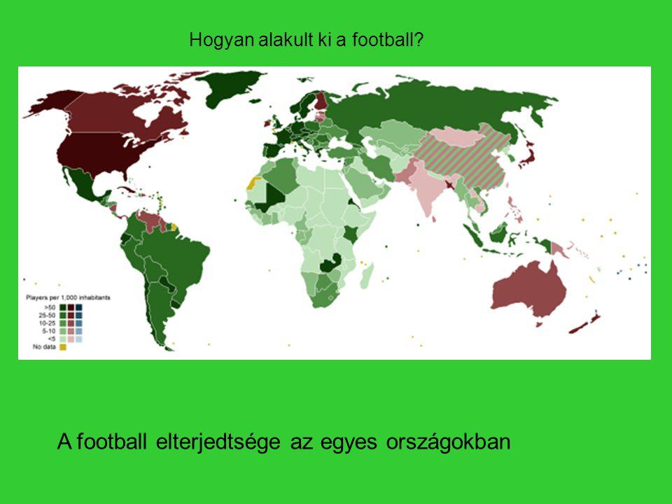 A football elterjedtsége az egyes országokban Hogyan alakult ki a football?