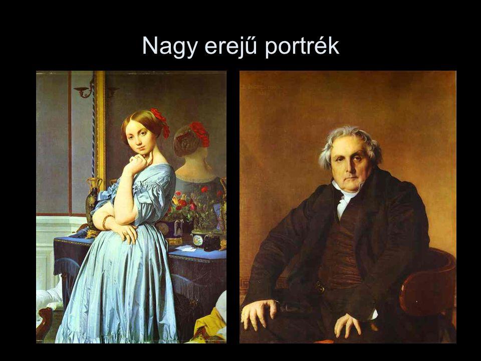 Nagy erejű portrék
