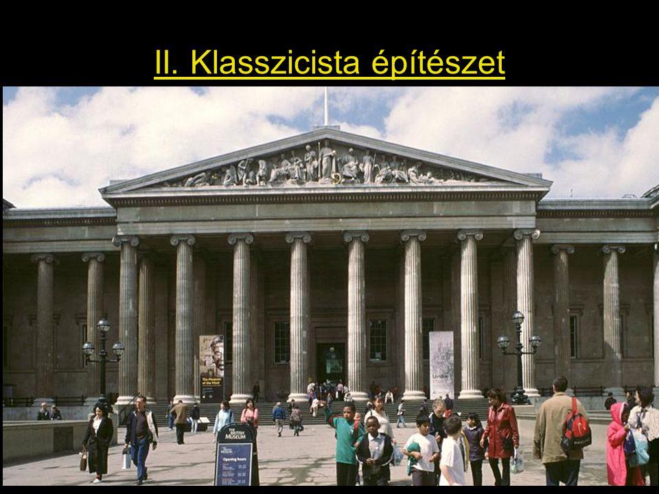 II. Klasszicista építészet