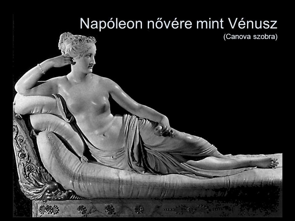 Napóleon nővére mint Vénusz (Canova szobra)