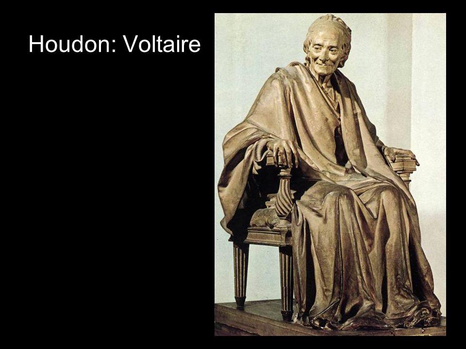 Houdon: Voltaire