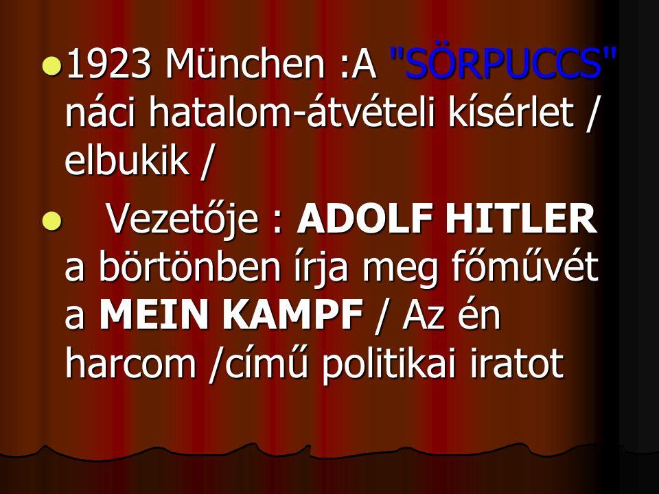  1923 München :A