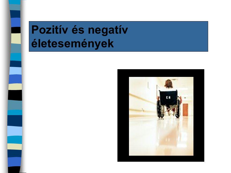 Pozitív és negatív életesemények