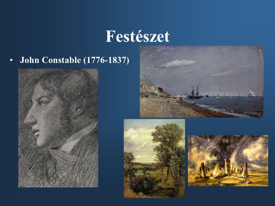 Festészet •John Constable (1776-1837)