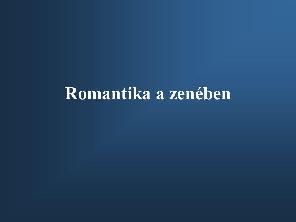Romantika a zenében