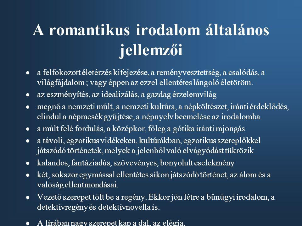 A német romantika •A romantika filozófiájának megalapozói: Fichte és Schelling  a romantika előfutárai: Hölderlin, Novalis  német romantikus írók, költők: Hoffmann, Kleist, Grimm testvérek, Hauff, Heine Hölderlin Novalis Grimm testvérekKleist HoffmannHeine