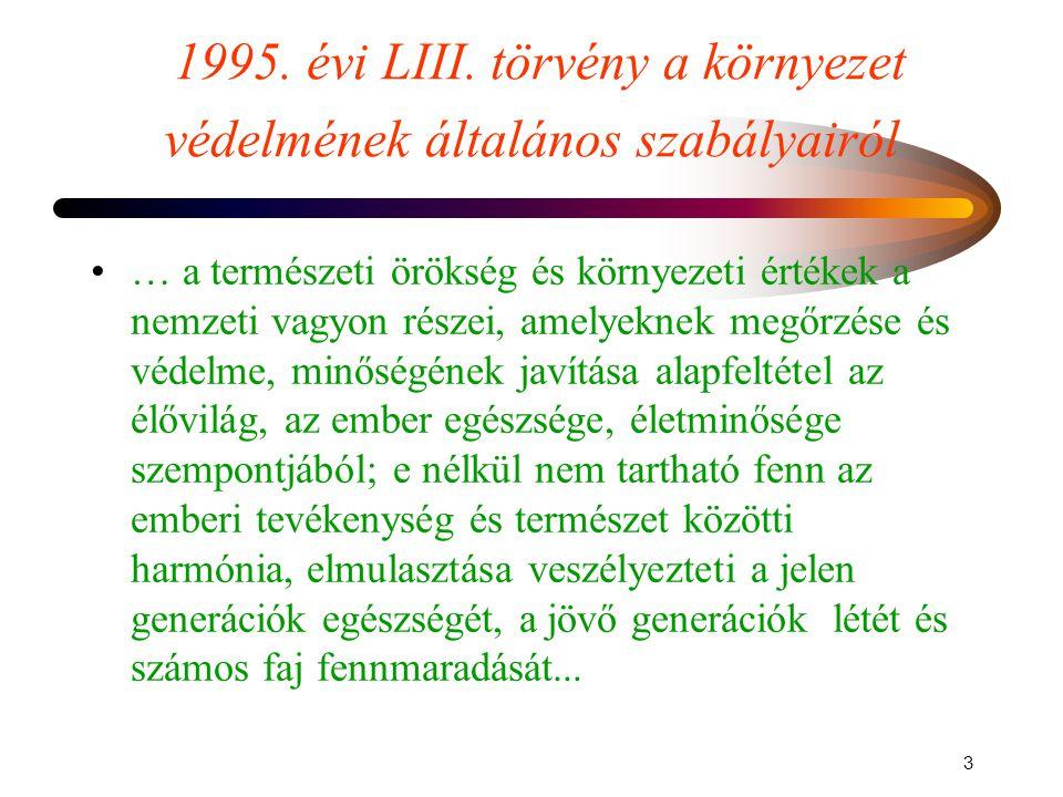 2 A Magyar Köztársaság Alkotmánya •A•A Magyar Köztársaság elismeri és érvényesíti mindenki jogát az egészséges környezethez. •A•A Magyar Köztársaság t