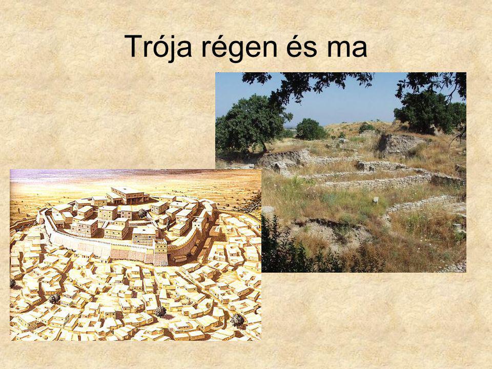 ÍLIÁSZ (Ilion=Trója) Keletkezés: i.e.VIII.