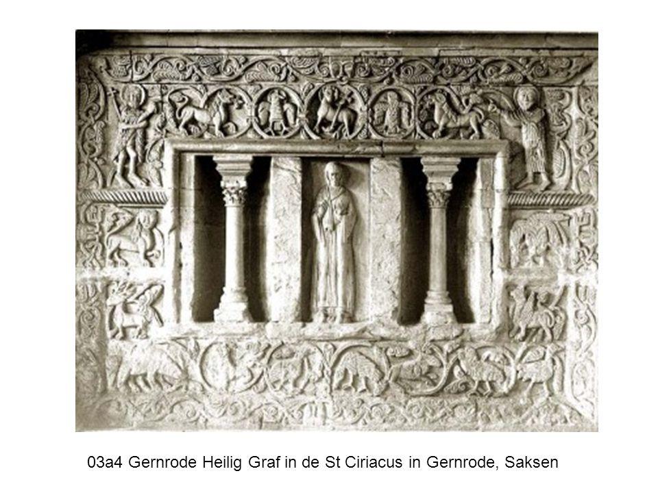 03a4 Gernrode Heilig Graf in de St Ciriacus in Gernrode, Saksen