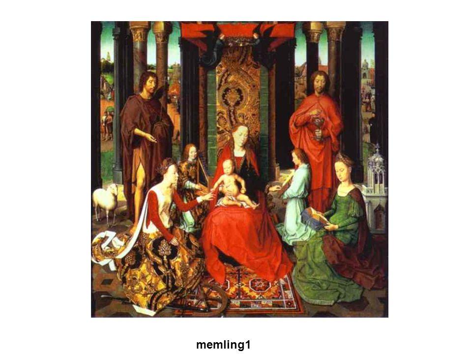 Gótikus művészet A XII. sz.-ban a francia királyok egyre erősödő központi hatalmat alakított ki. VI. és VII. Lajos, majd Fülöp memling1