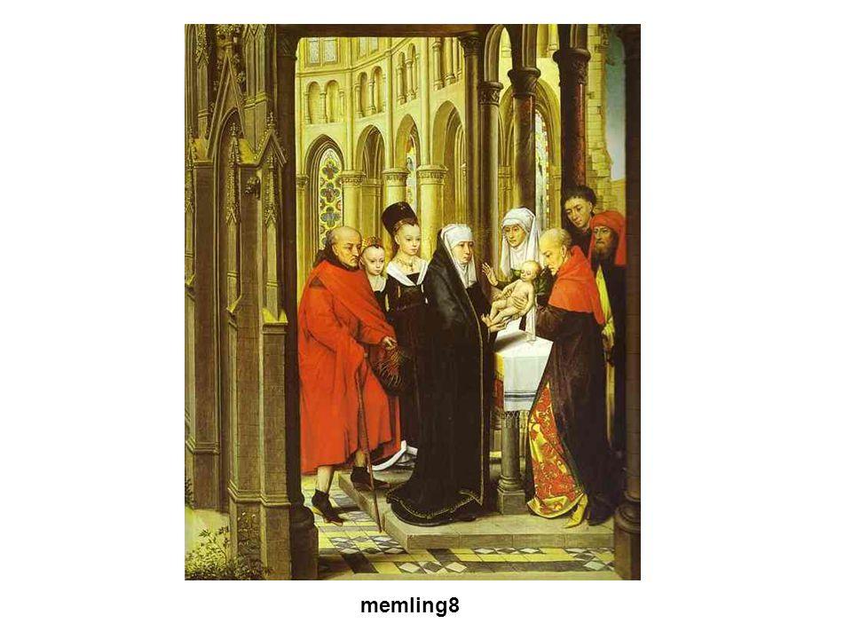 Gótikus művészet A XII. sz.-ban a francia királyok egyre erősödő központi hatalmat alakított ki. VI. és VII. Lajos, majd Fülöp memling8