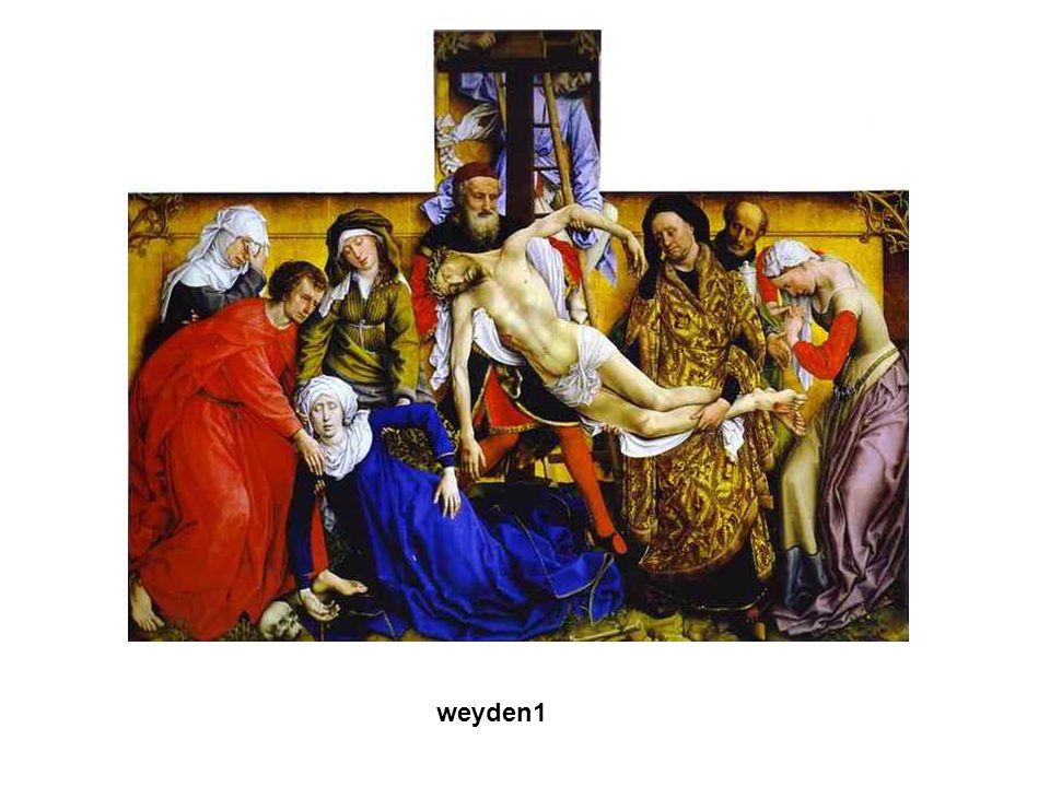 Gótikus művészet A XII. sz.-ban a francia királyok egyre erősödő központi hatalmat alakított ki. VI. és VII. Lajos, majd Fülöp weyden1