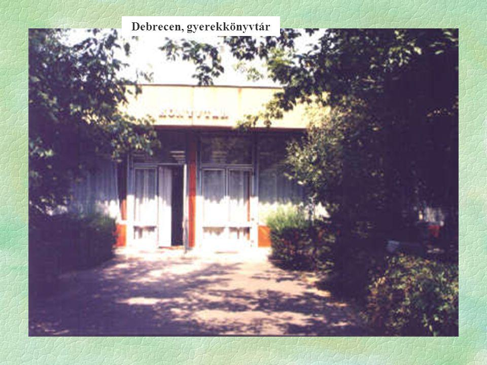 Debrecen, gyerekkönyvtár