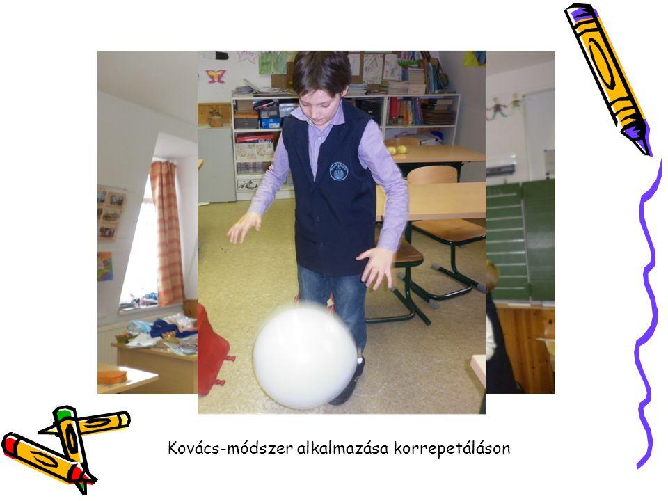Kovács-módszer alkalmazása korrepetáláson