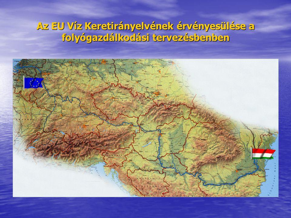 Az EU Víz Keretirányelvének érvényesülése a folyógazdálkodási tervezésbenben