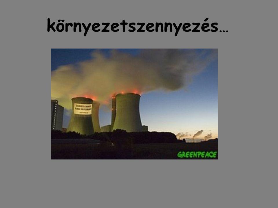 környezetszennyezés …