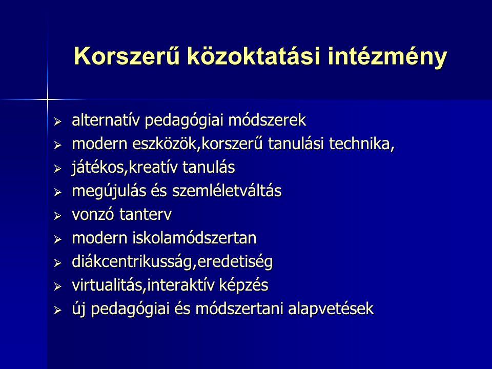 Kulcskompetenciák  anyanyelvi kommunikáció  idegen nyelvi kommunikáció  IKT (információs és kommunikációs technológia)  matematikai műveltség, valamint alapvető természettudományi és technikai kompetenciák  a tanulás tanulása  személyközi és állampolgári kompetenciák  vállalkozói képességek  kulturális tudatosság