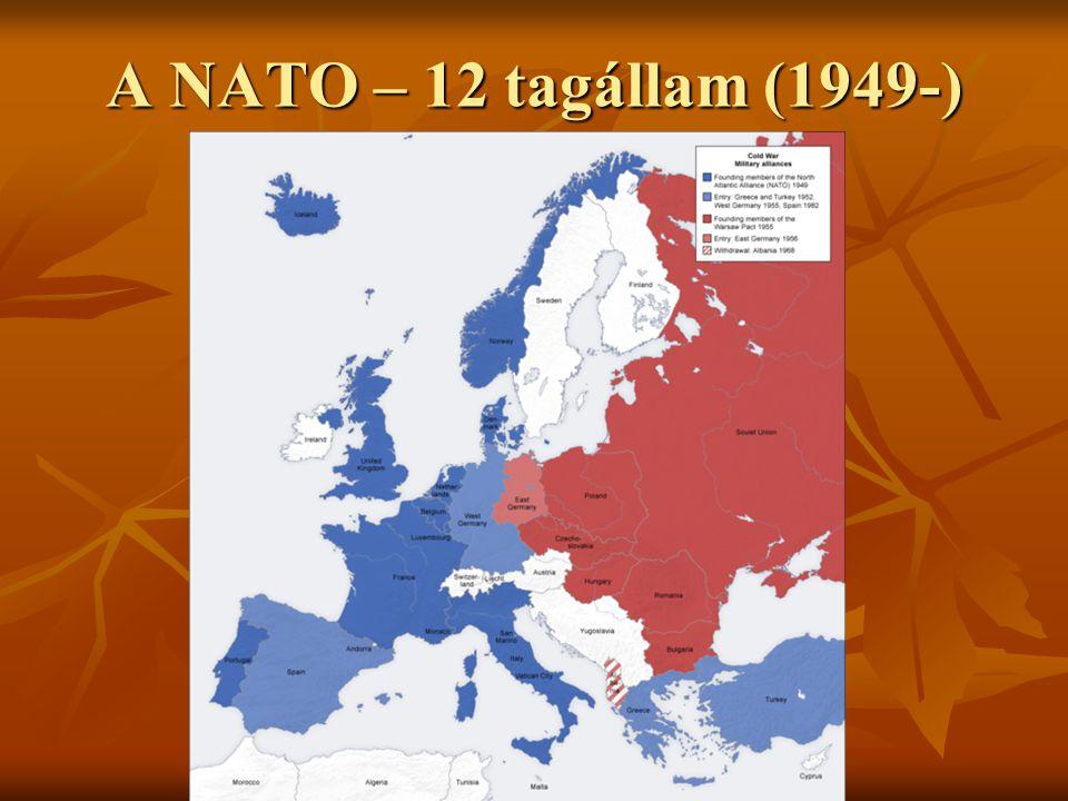 A NATO – 12 tagállam (1949-)