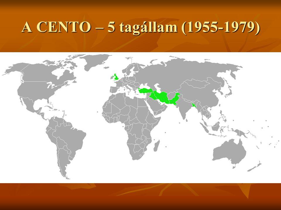 A CENTO – 5 tagállam (1955-1979)