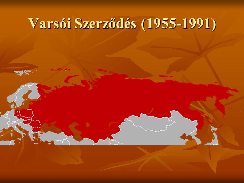 Varsói Szerződés (1955-1991)