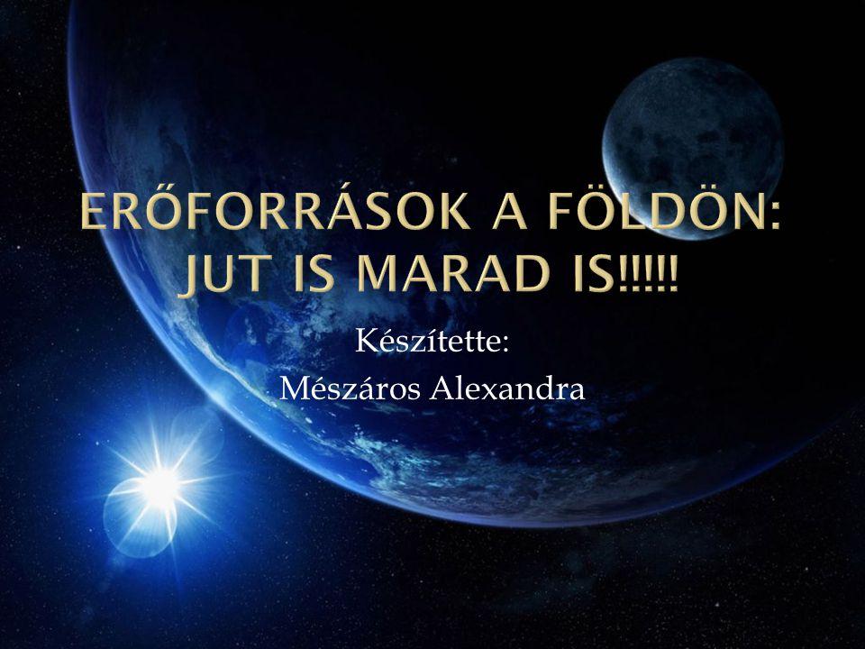 Készítette: Mészáros Alexandra