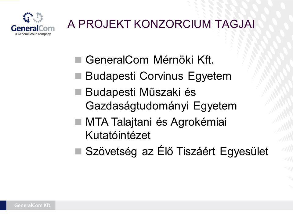A PROJEKT KONZORCIUM TAGJAI  GeneralCom Mérnöki Kft.