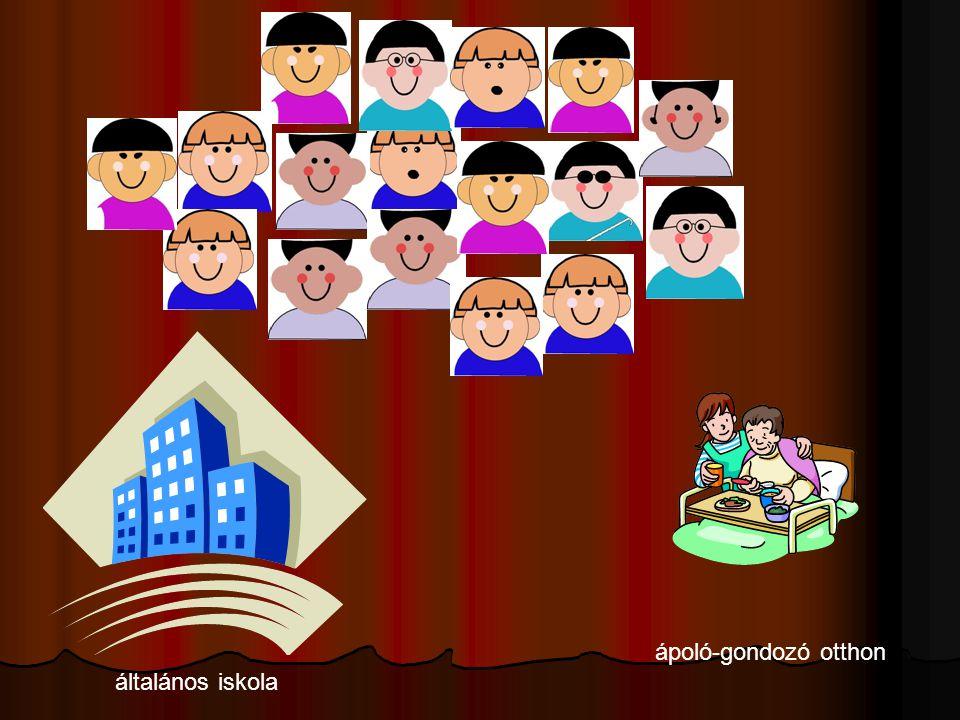 általános iskola ápoló-gondozó otthon