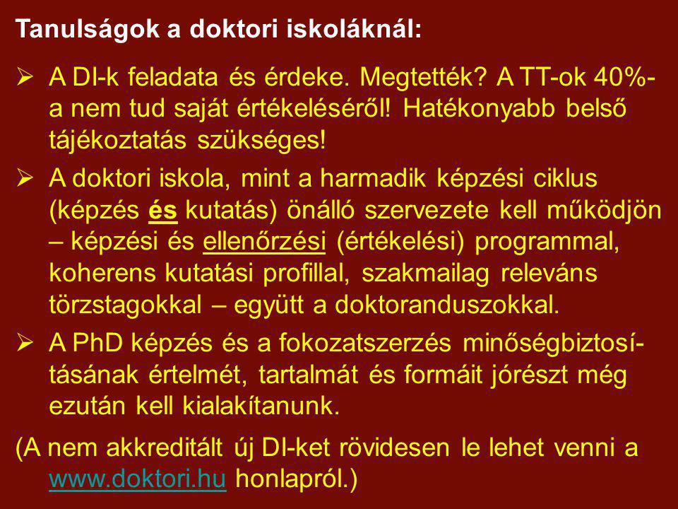2009-es újdonságok: általános letisztulás, egyértel- műség biztosítása (pl.