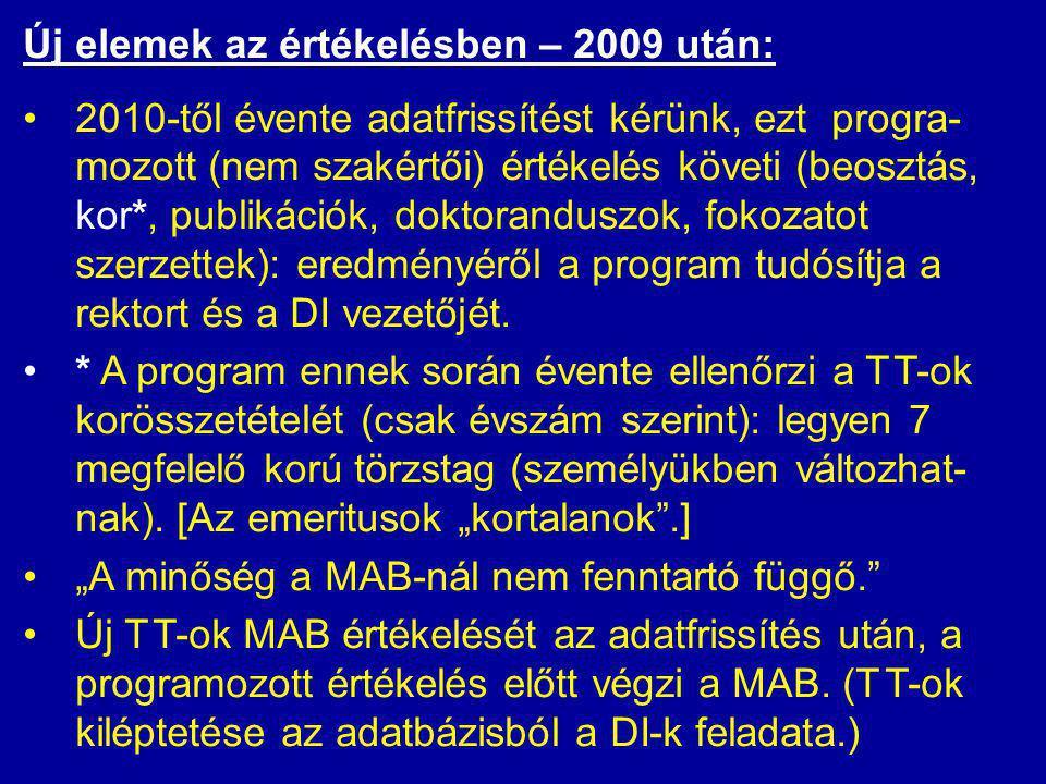 Ütemezés: •Jelenleg vita a munkaanyagról.•2008. okt.