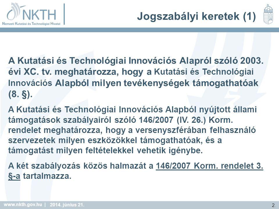 www.nkth.gov.hu | 2. 2014. június 21.