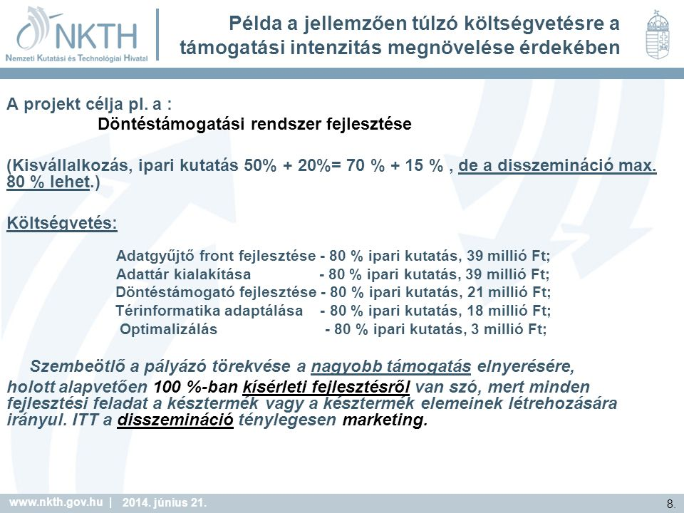 www.nkth.gov.hu | 8. 2014. június 21.